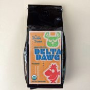 Delta Dawg coffee front